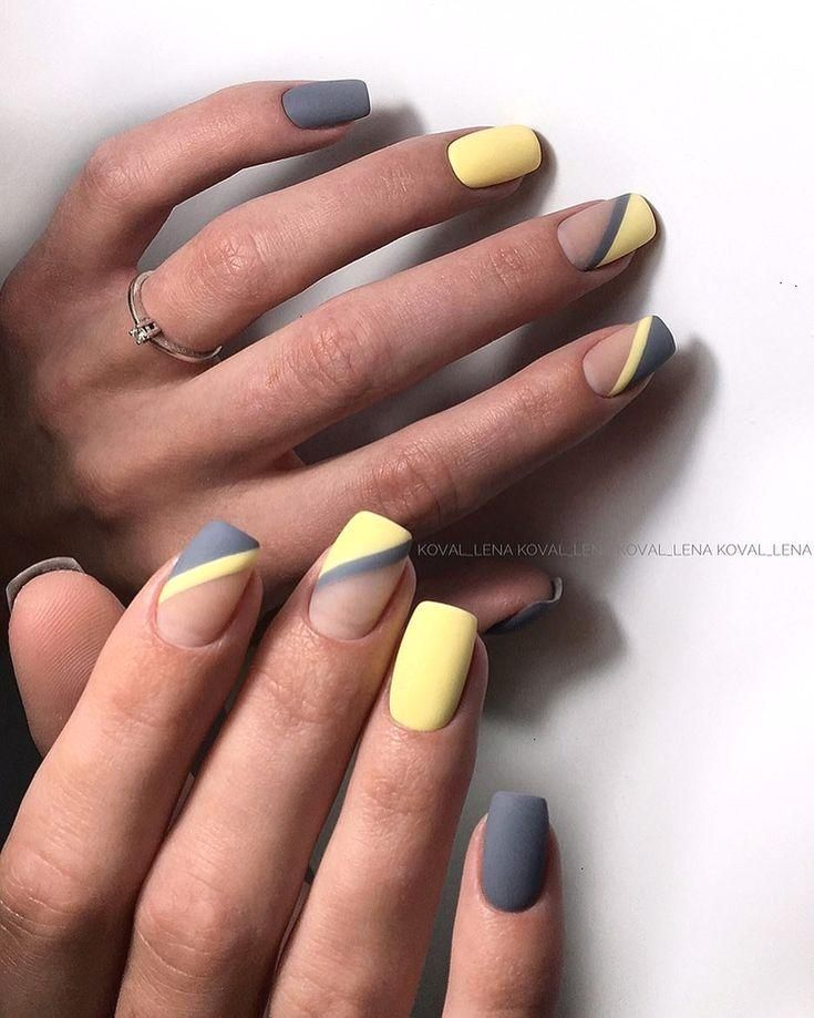 Greanus Decor Ideas Nail Tip Designs Yellow Nails Womens Nails