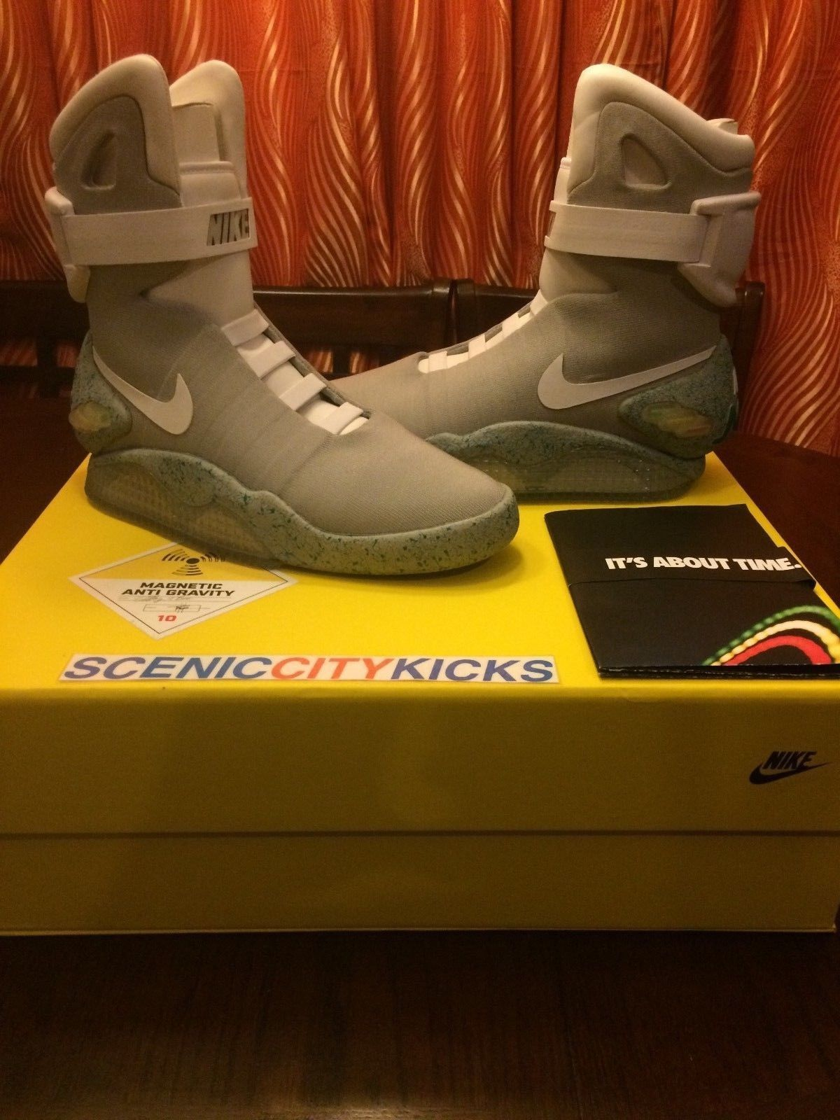 2011 Nike Air Mag Back To The Future Martymcfly Brand New With