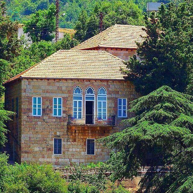 lebanese old house. | Arabic Old Houses in 2019 | Lebanon ...  lebanese old ho...