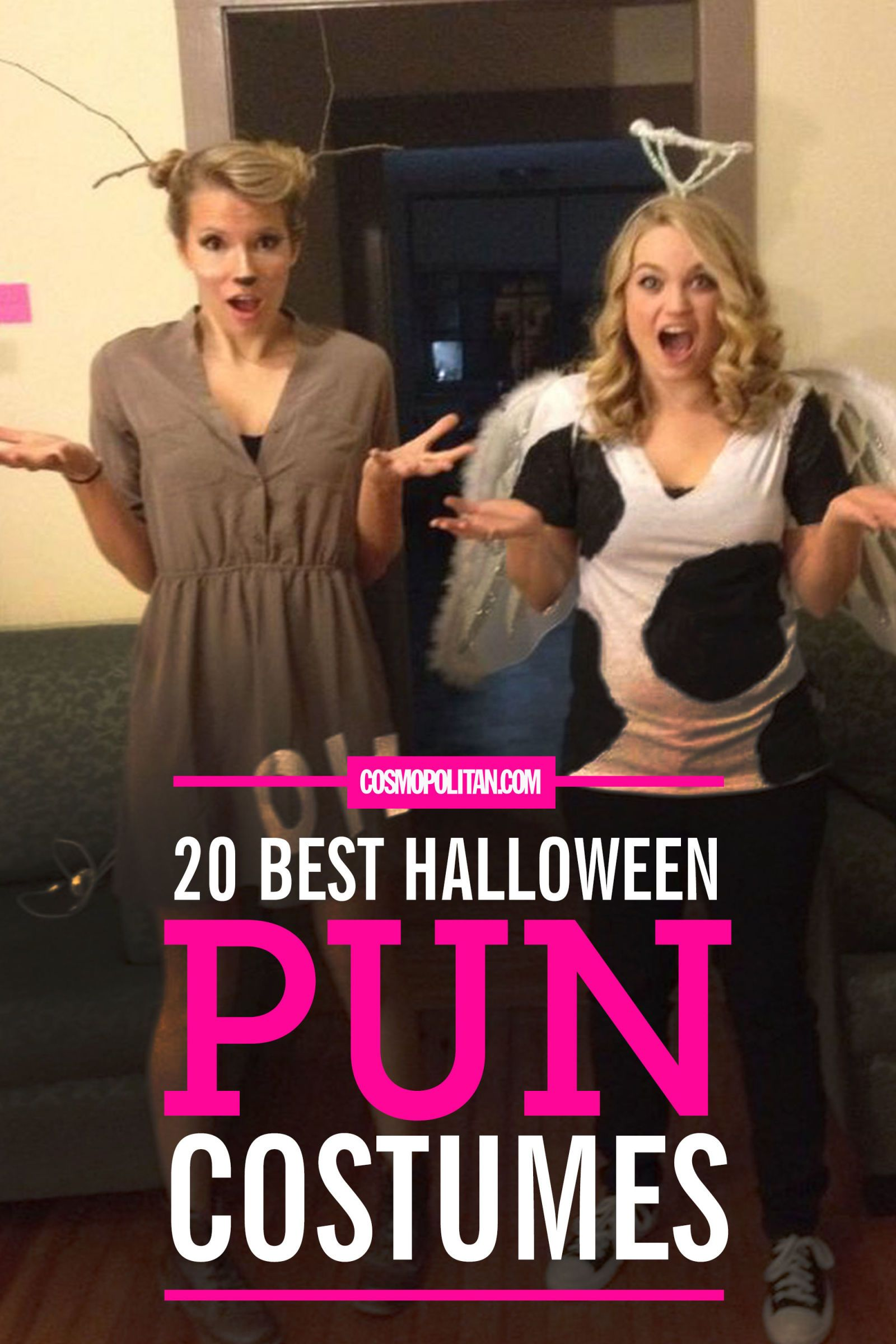 20 Best Halloween Pun Costumes More  sc 1 st  Pinterest & 39 Halloween Pun Costumes That Will Make Everyone Look Twice | Pun ...