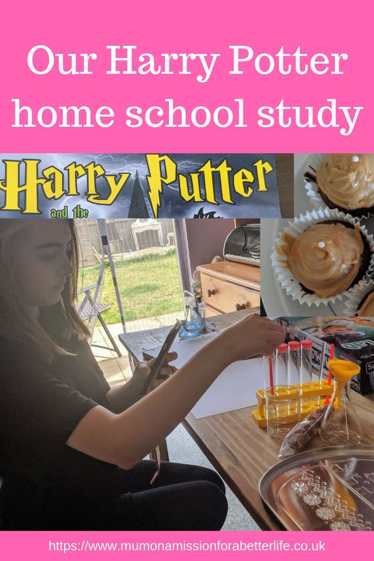 Photo of Our Harry Potter home school study – Mum On A Mission For A Better Life
