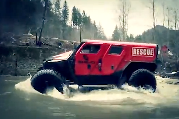 romanian offroad specialists reveal extreme vehicle ghe