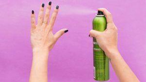 13 Hairspray Hacks No Girl Should Be Without Dry Nails Fast Dry Nails Nail Polish Dry Faster