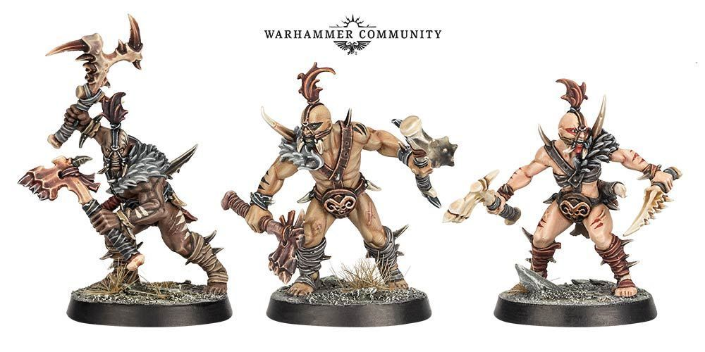 Untamed Beasts Warband Warcry Warhammer Age of Sigmar