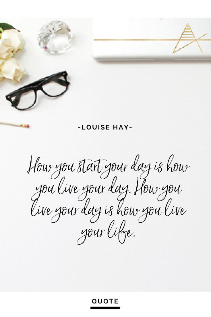 Live Your Life Quotes Start Your Day Selfcare Intentional Living Setting Intention