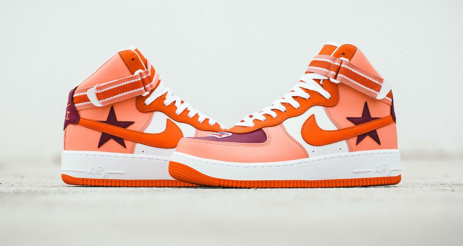 "free shipping d6d0b 68c10 Riccardo Tisci x NikeLab Air Force 1 High ""Orange""    Coming Soon"