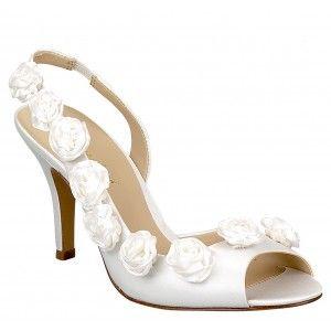 brianna leigh sophia white  wedding shoes bridal shoes