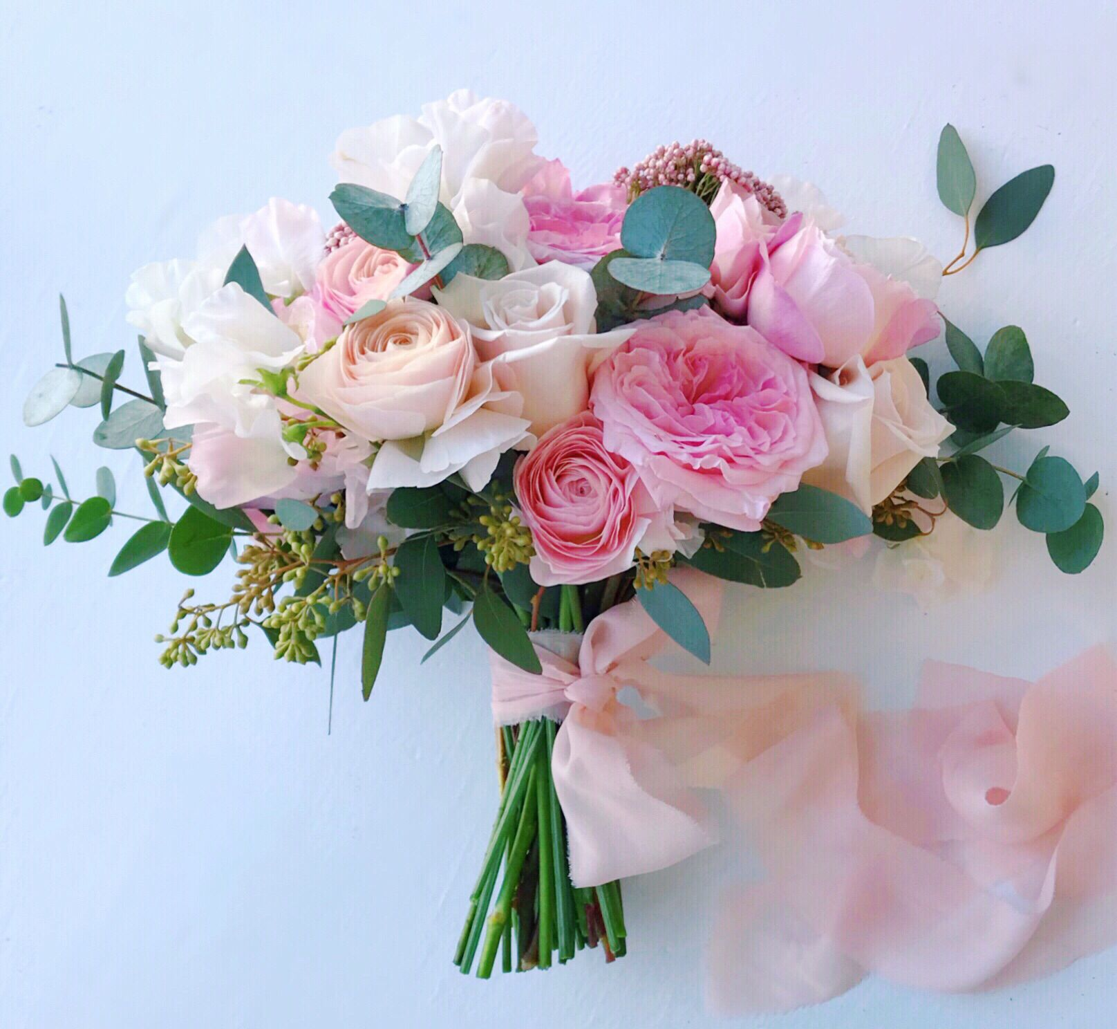 Pink Wedding Bouquet Wedding Bouquets Pink Flower Bouquet Wedding Spring Wedding Flowers