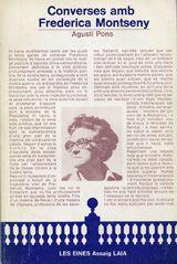 Converses amb Frederica Montseny. Agustí Pons i Mir. 1977