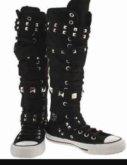 Knee high sneakers ones that aj lee