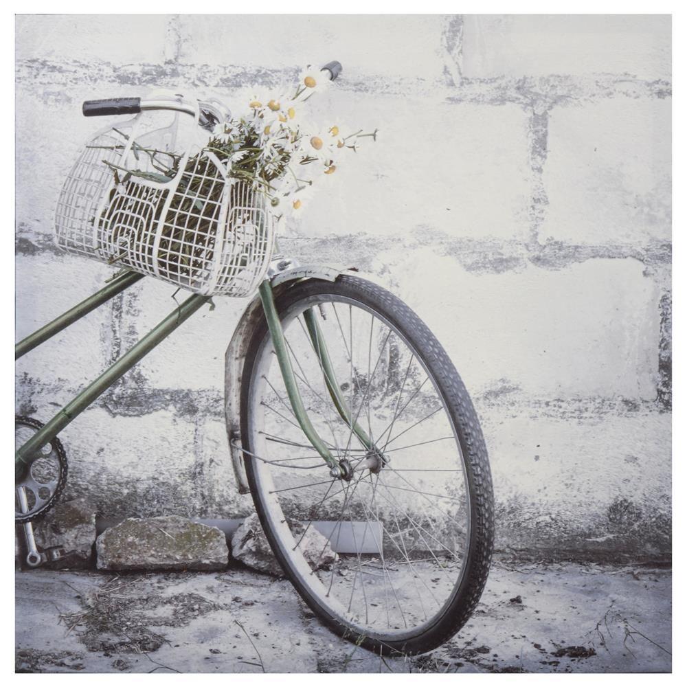 Vintage Bicycle Canvas
