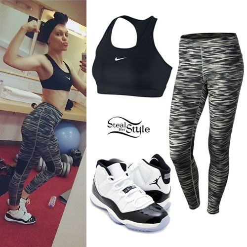 Nike Outfits for Girls Tumblr | Tumblr Outfits With Jordans And Tights my t  shirt became
