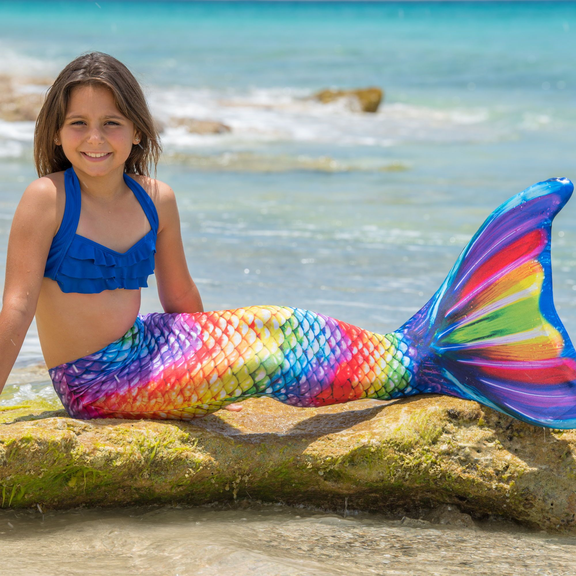 Rainbow Reef Mermaid Tail