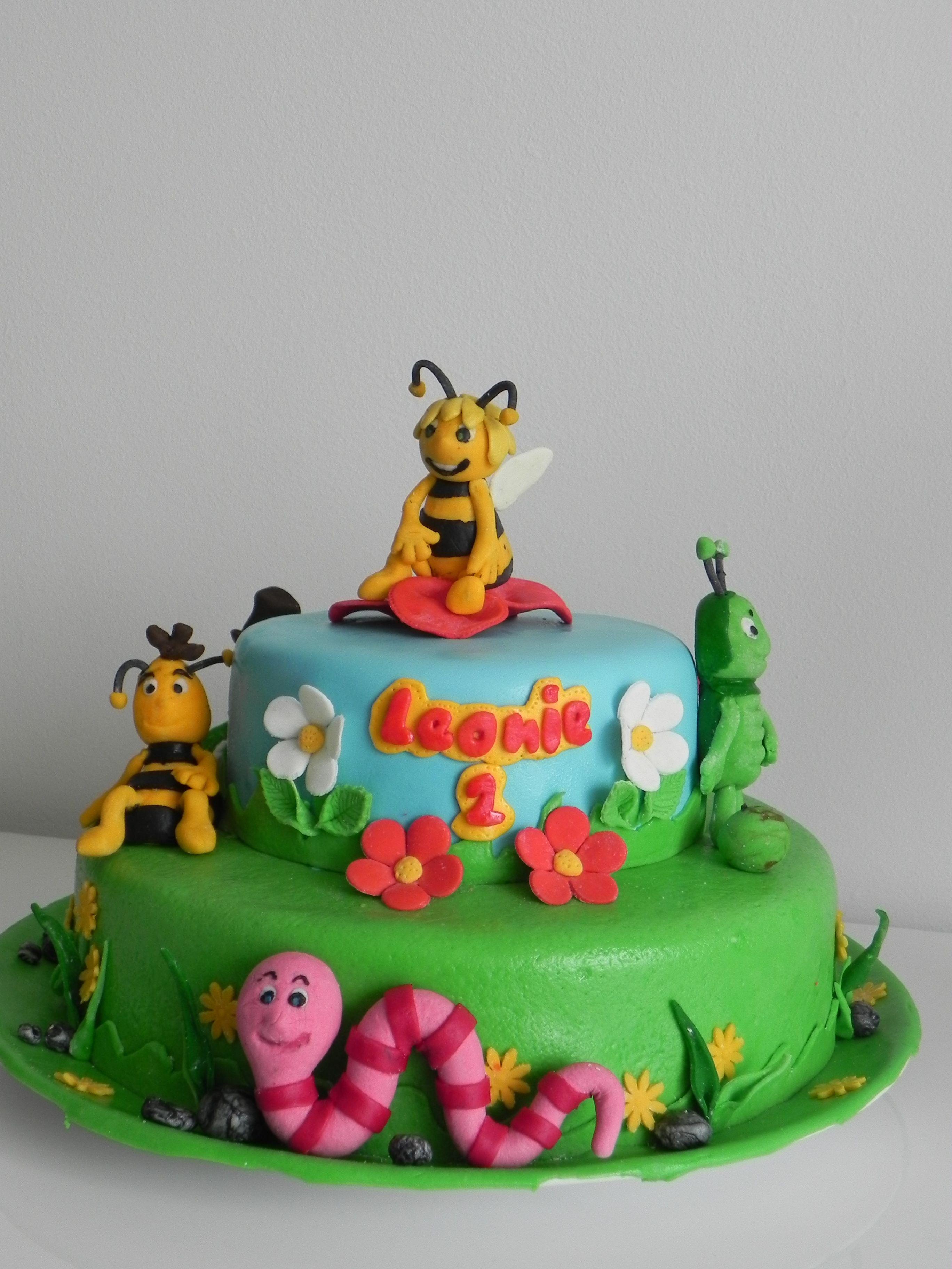 Biene Maja Torte | Meine kreative Ecke | Pinterest
