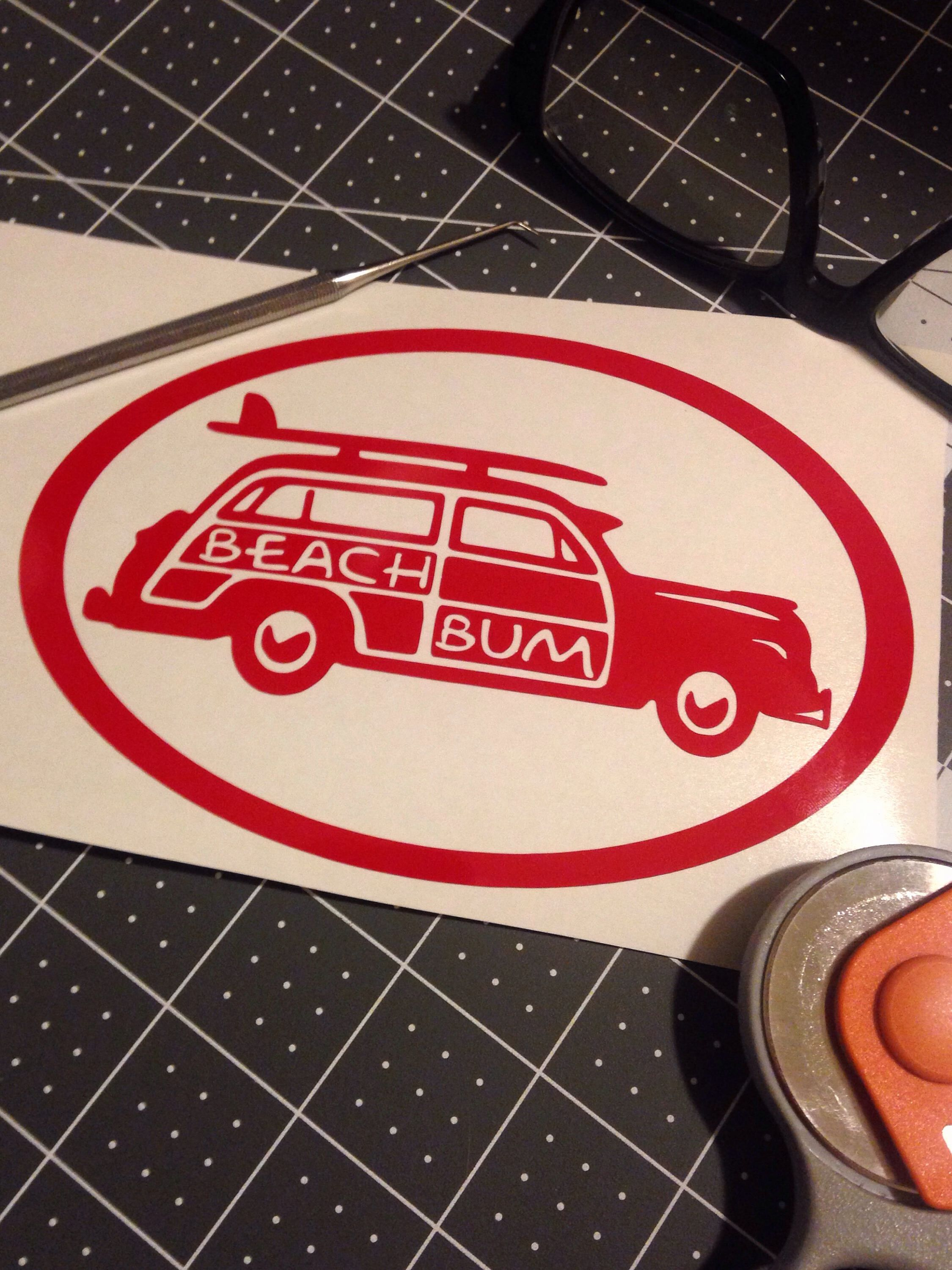 A personal favorite from my Etsy shop https://www.etsy.com/listing/532277551/beach-bum-sams-surf-woody
