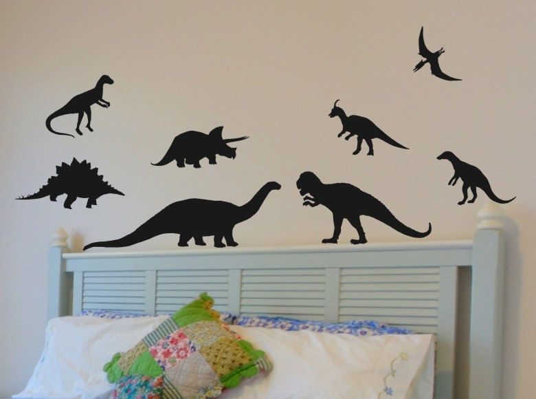 Delicieux Dinosaur Wall Decals Set Of 8 Great Wall Decor By Vgwalldecals, $18.00