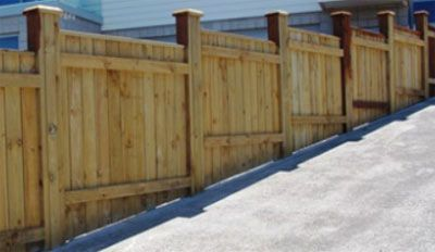 How To Install Close Board Fencing In 2020 Sloped Yard