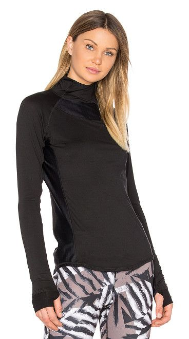 On SALE at 20% OFF! Charge 1/4 Zip Top by ALALA. Self: 89% poly 11% spandexContrast: 59% polyamide 41% elastane. Diagonal zipper closure. Contrast panel details. ALAL...