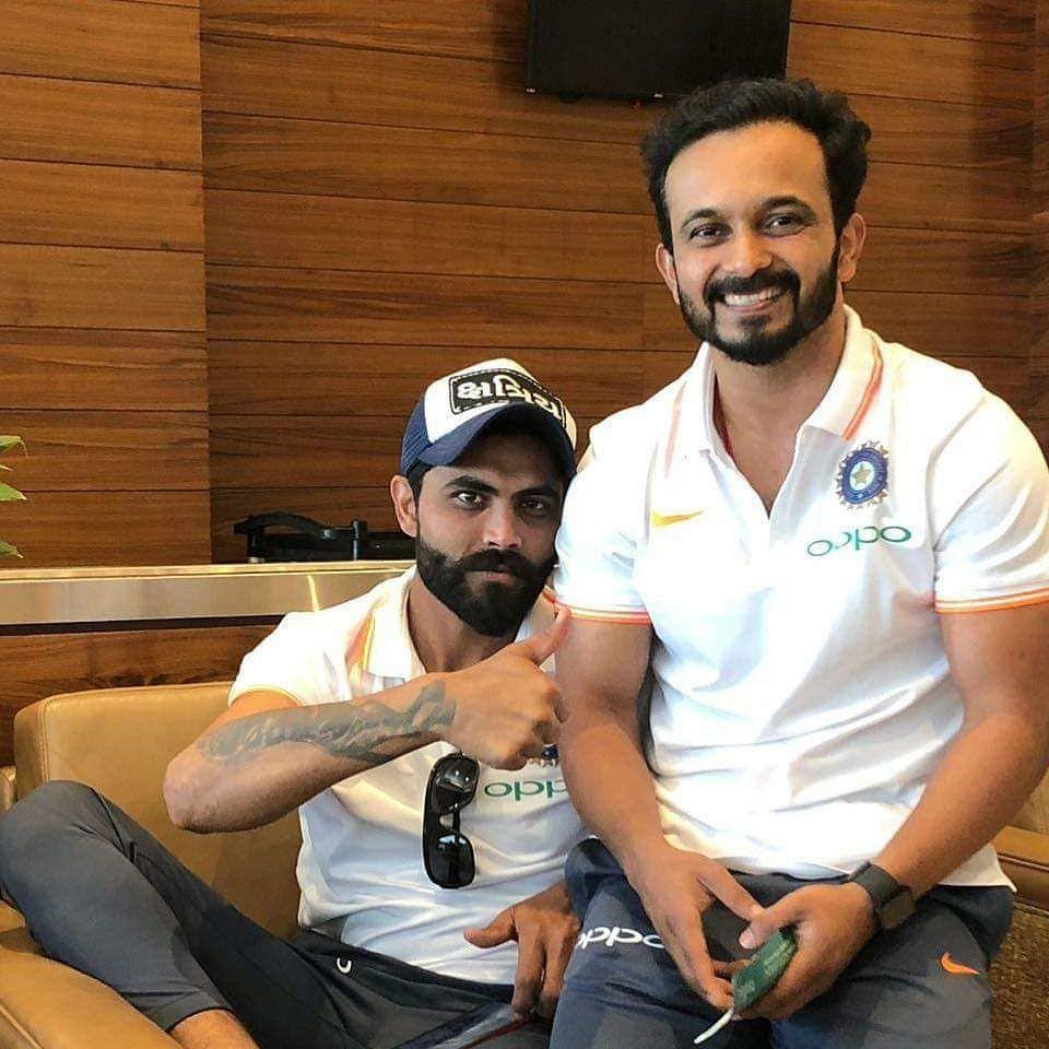 Sir Jadeja & Kedar Jadhav ÇÅ🏏 Chennai super kings
