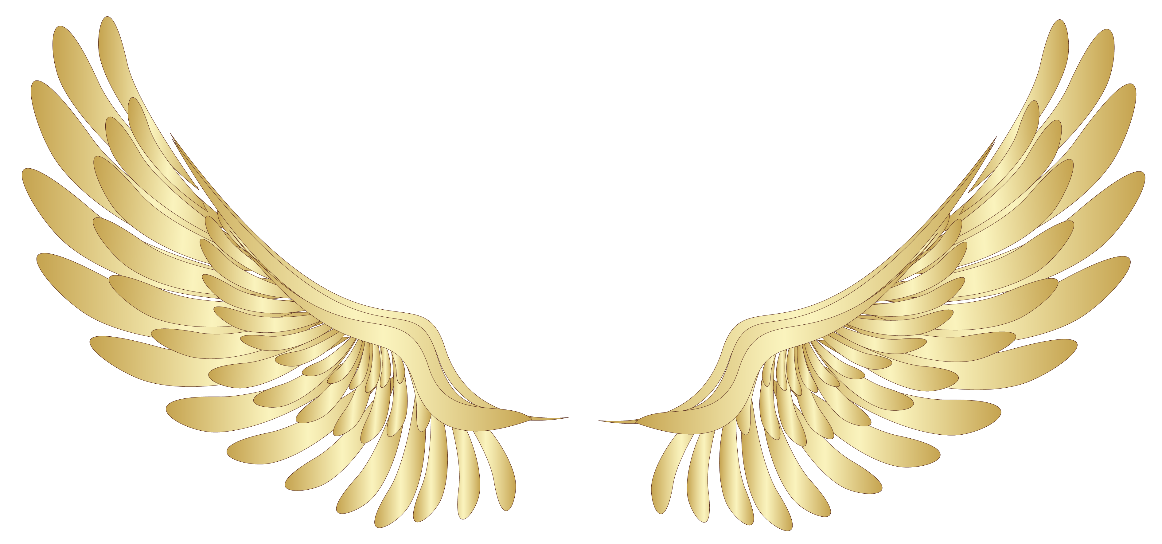 Golden Wings Decor PNG Clipart Picture Gallery