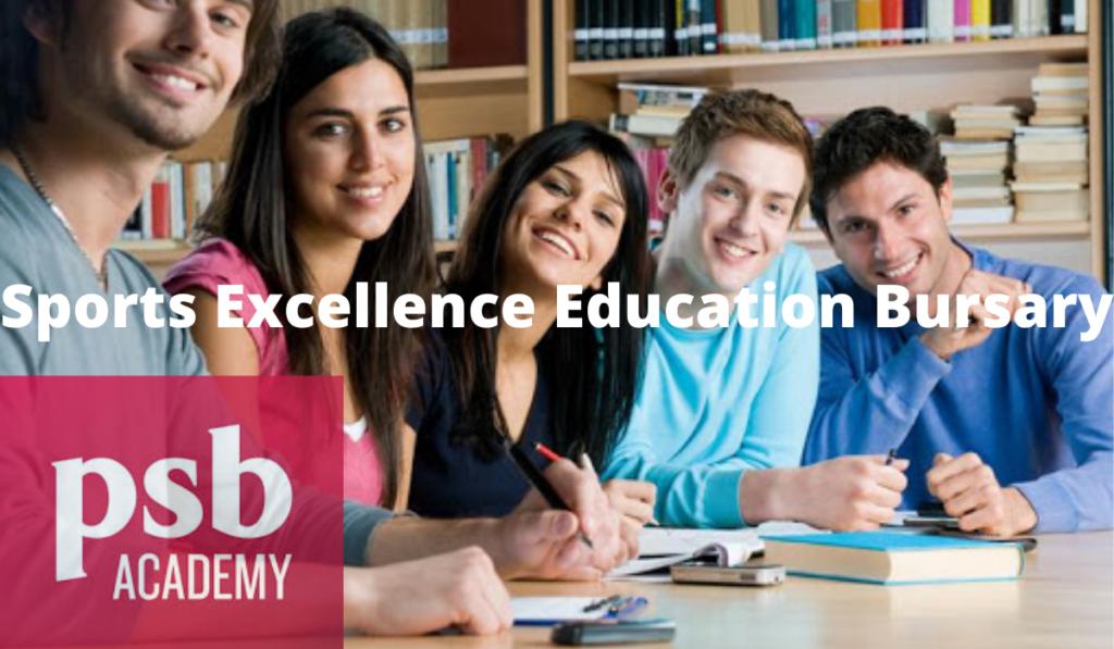 PSB Academy Sports Excellence Education Bursary in