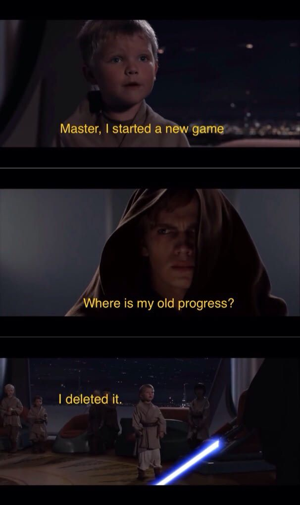 The Struggle Of Having A Younger Brother Star Wars Humor Star Wars Jokes Funny Star Wars Memes