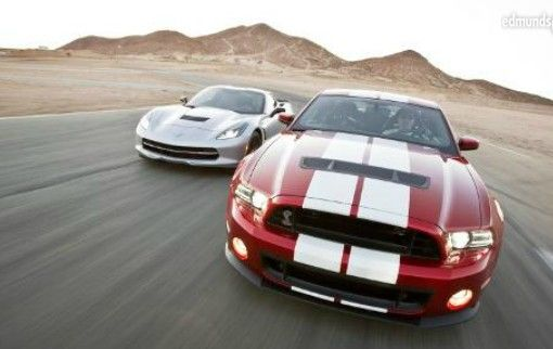 2014 Chevrolet Corvette Stingray Z51 Vs 2014 Ford Mustang Shelby