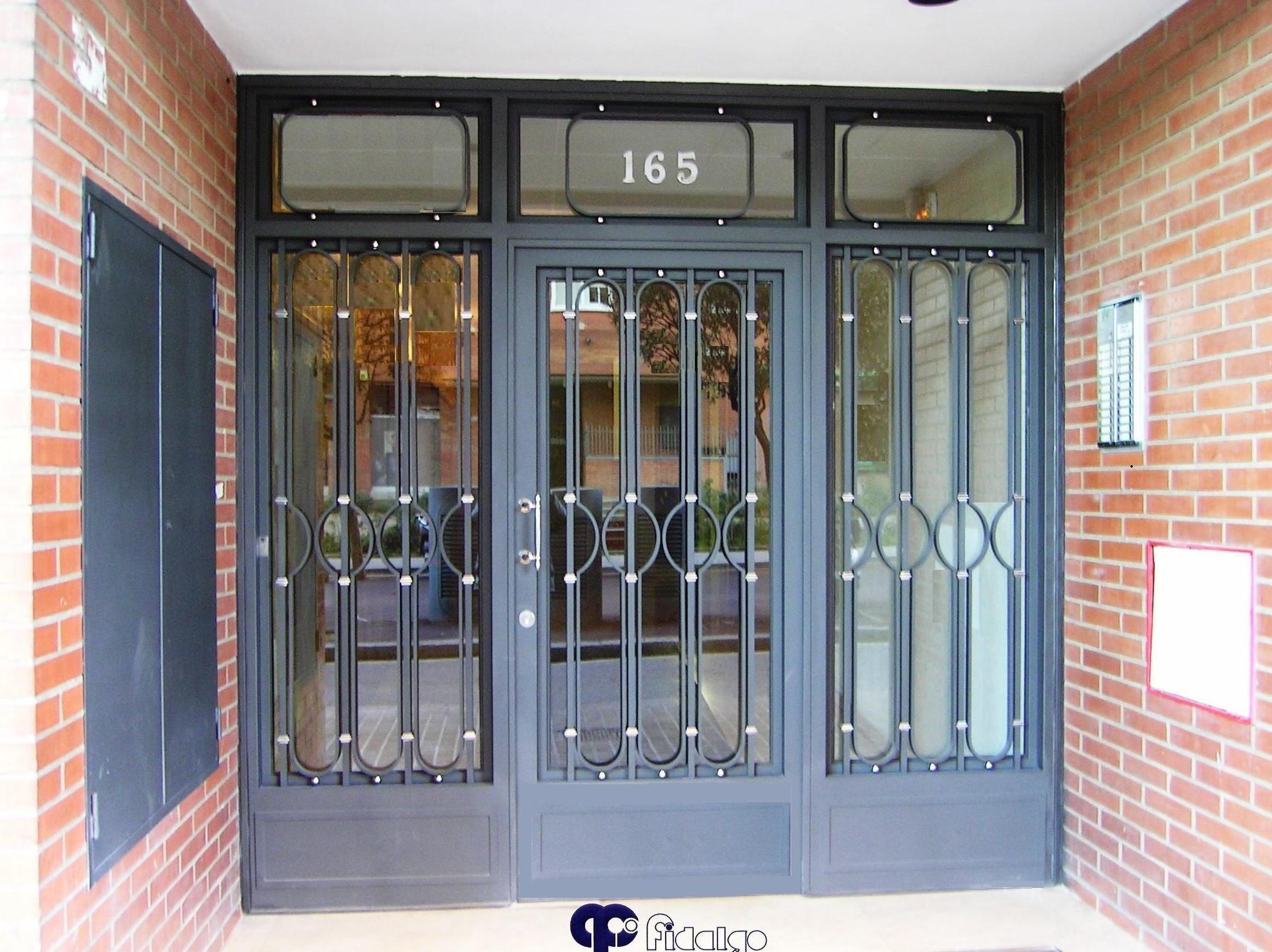 Resultado de imagen de modelos de puertas metalicas para - Puertas para cocheras ...