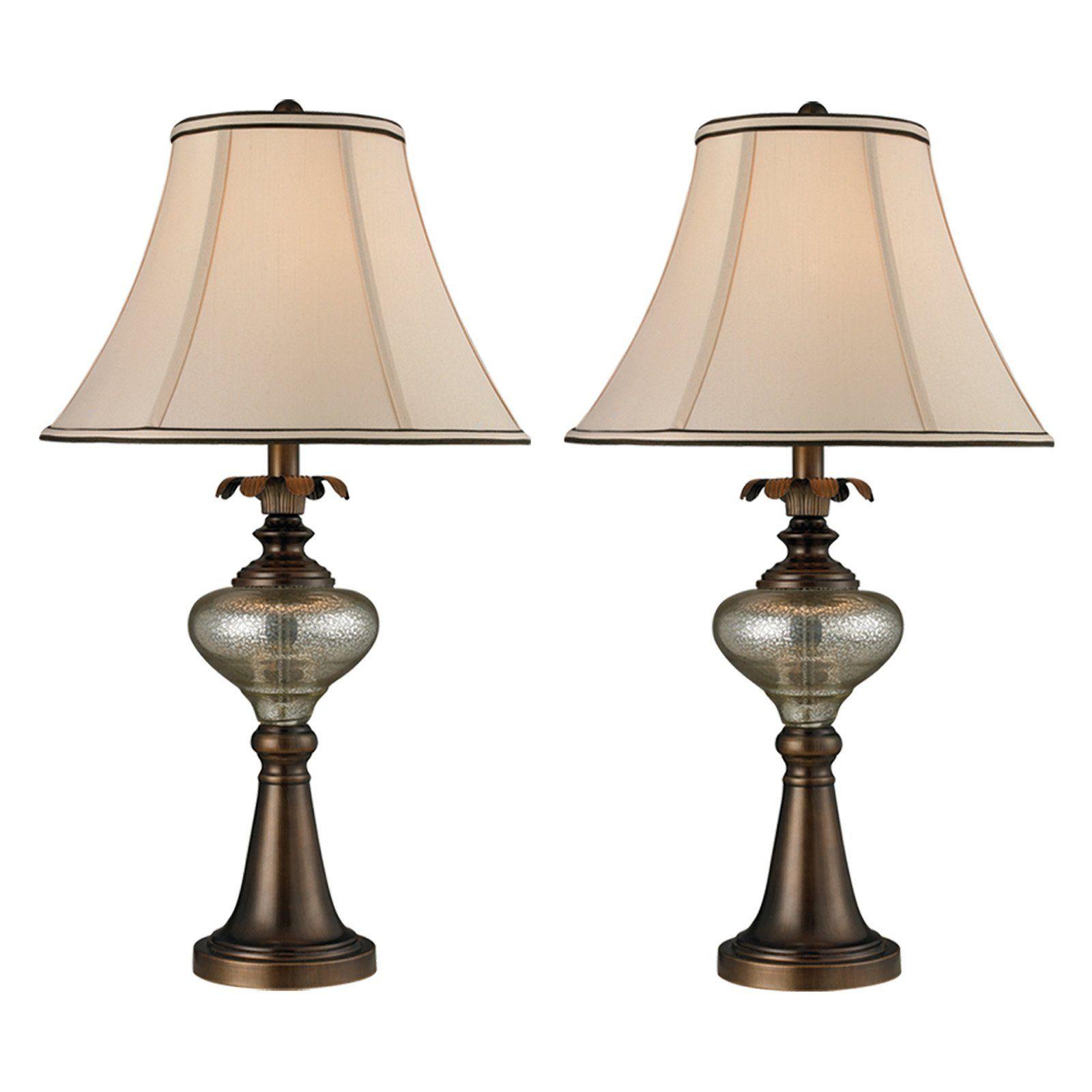 Springdale Lighting Bingham 2 Piece Table Lamp Set   PC14314