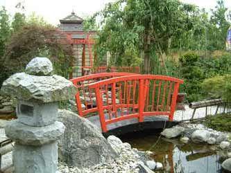 Pont style japonais plus simple jardin massif pinterest jardin massif massif et ponts - Pont pour bassin ...