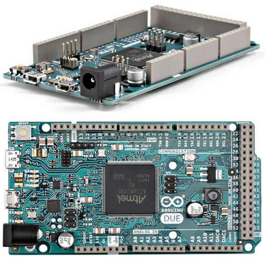 Arduino due is a microcontroller board based on the