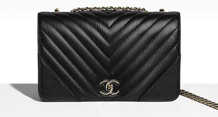 59f84d1dec Chanel Chevron Statement Bag