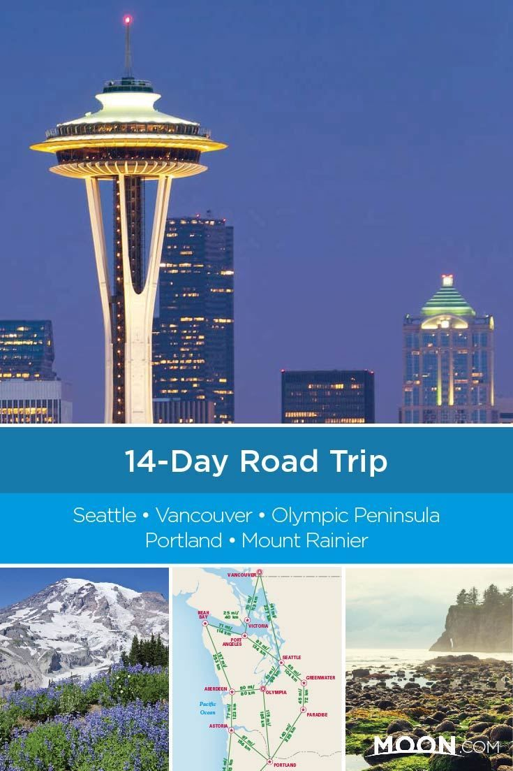 14-Day Best of the Pacific Northwest Road Trip Loop