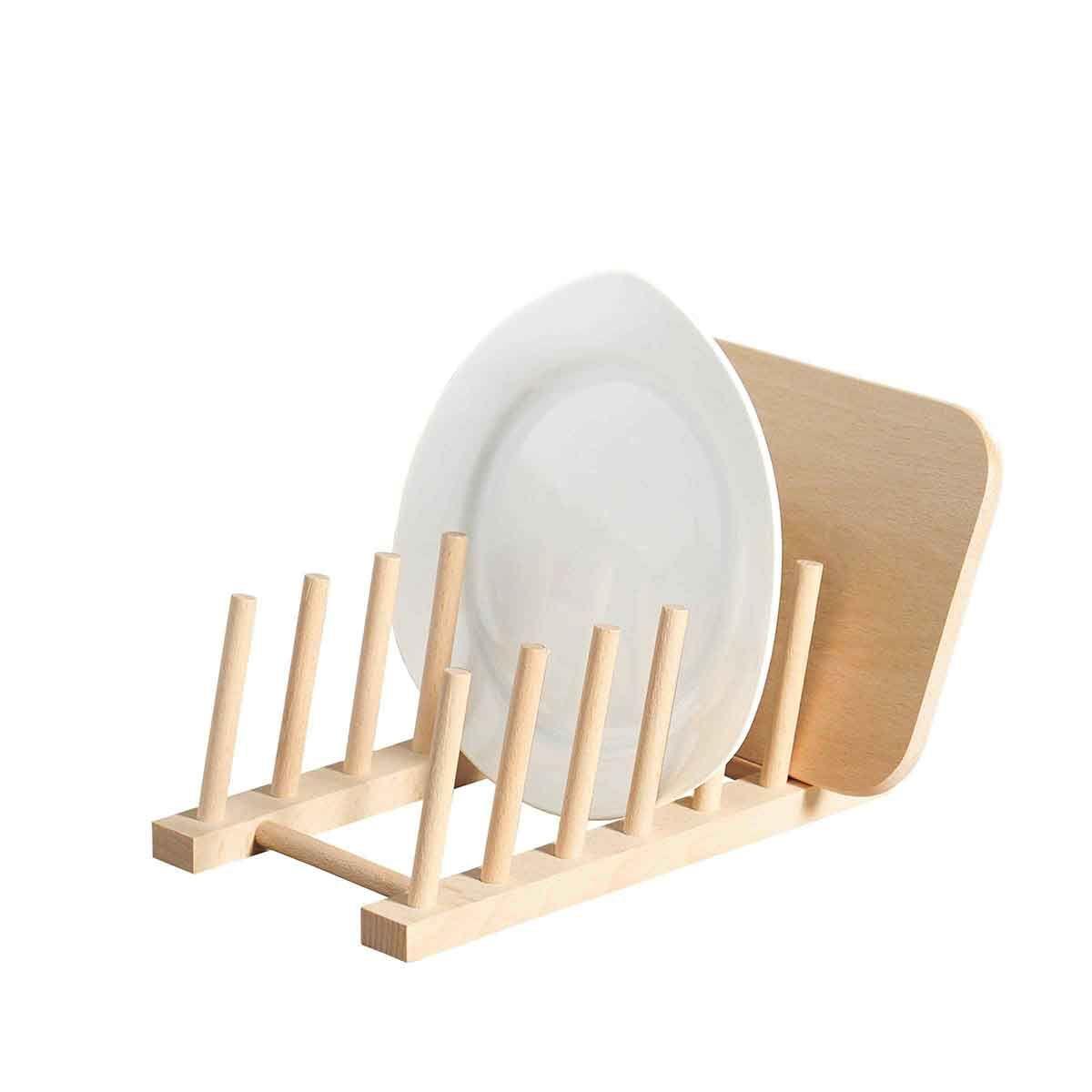 Range Couvercles En Bois Rangement Cuisine Couvercle Et Ranger # Rangements Assietes Modernes