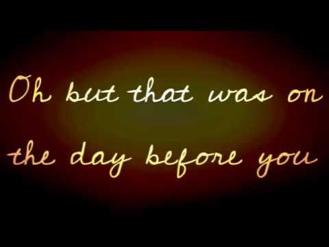 May 16 2011 Was The Day Before You David And After That Day I Began To Feel Wanted Loved Apprecia Wedding Songs Best Wedding Songs Christian Wedding Songs