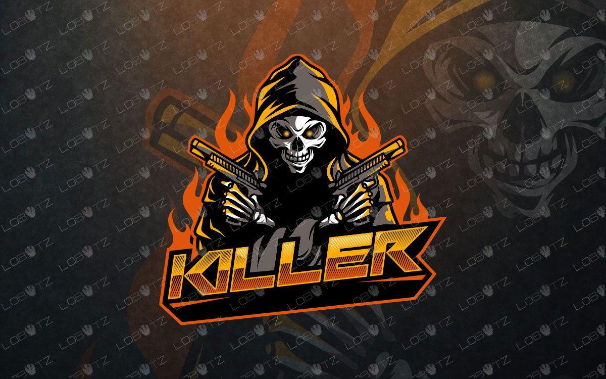Grim reaper esports logo grim reaper mascot reaper with