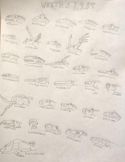 Prehistoric Creatures described by Dr Doyle White by DINOTASIA123 on DeviantArt #prehistoriccreatures