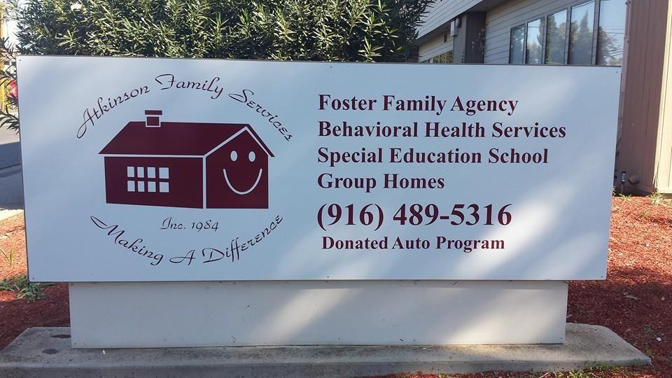 Atkinson Family Services Sacramento California Foster Care Mental
