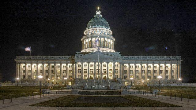 Utah State Capitol Building By Renes Via Flickr Capitol Building Utah Salt Lake City Utah