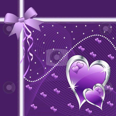 Purple Hearts Wedding Purple heart wedding i...