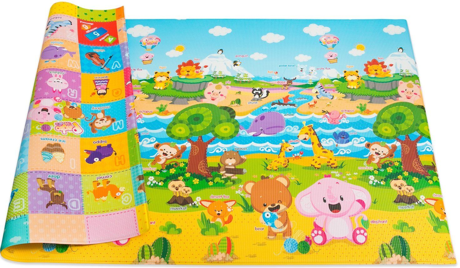 cartoon fun floors pad floor toy musical mat itm play blanket activity crawling preview gym baby
