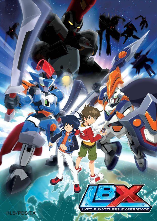 Danball Senki W /// Genres Action, Kids, Mecha アニメ