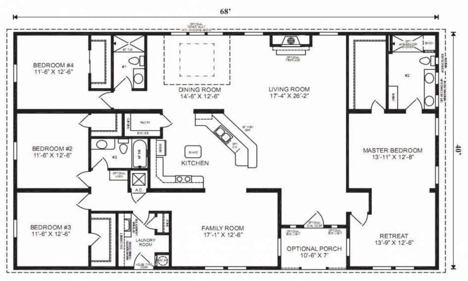 apartments, Log Cabin House Plans Bedrooms Best Floor