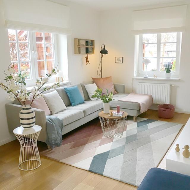 Uberlegen Ein Pastell Traum Wird In Diesem Wohnzimmer Wahr! Entdecke Noch Mehr  Wohnideen Auf COUCHstyle #living #wohnen #wohnideen #wohnzimmer #pastell  #einru2026