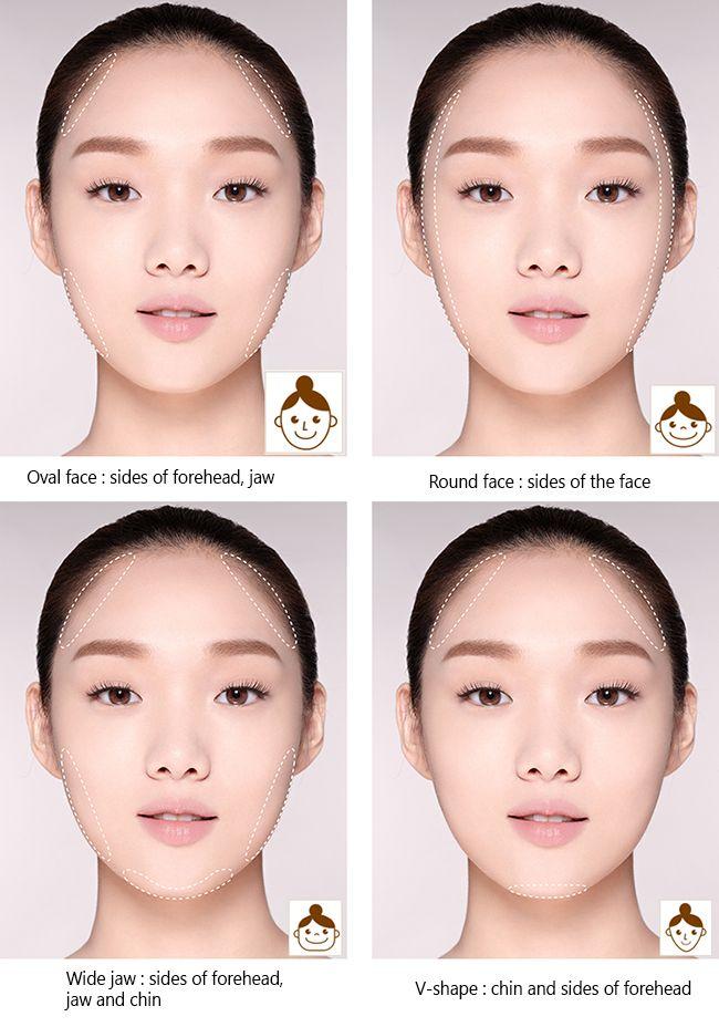 Tutorial Tips How To Contour Your Face The Korean Way No Bronzer