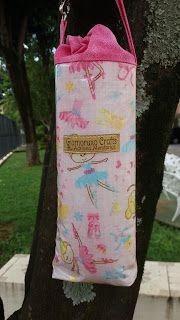 Artesanato feito com carinho: Tutorial - Porta Garrafa de Água Térmico