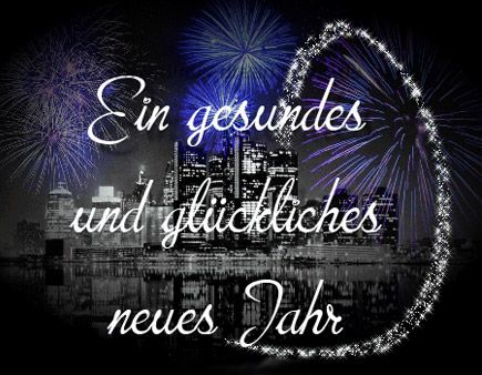 Frohes neues Jahr | Happy New Year / Good Luck | Pinterest | Happy ...