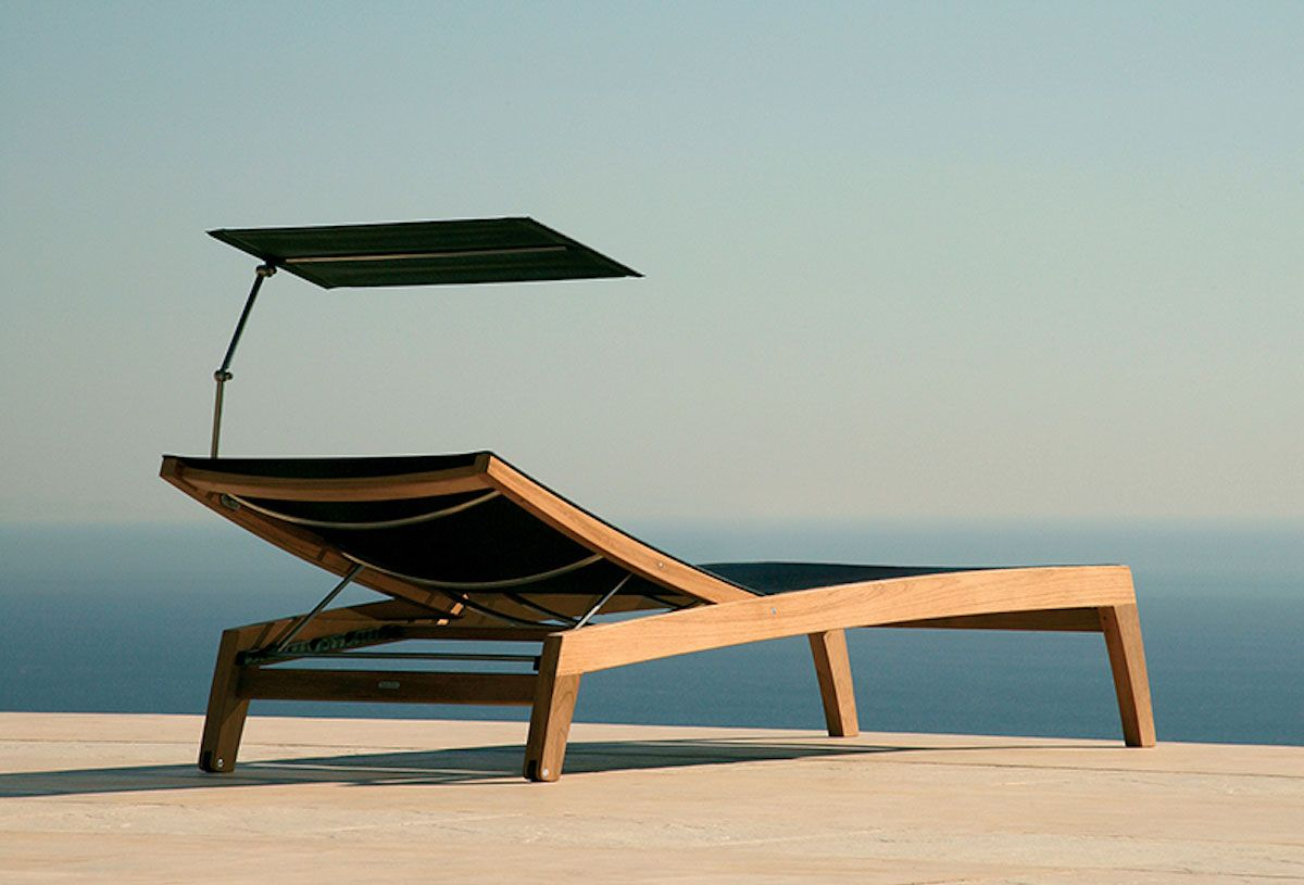 The new barlow tyrie horizon sun lounger