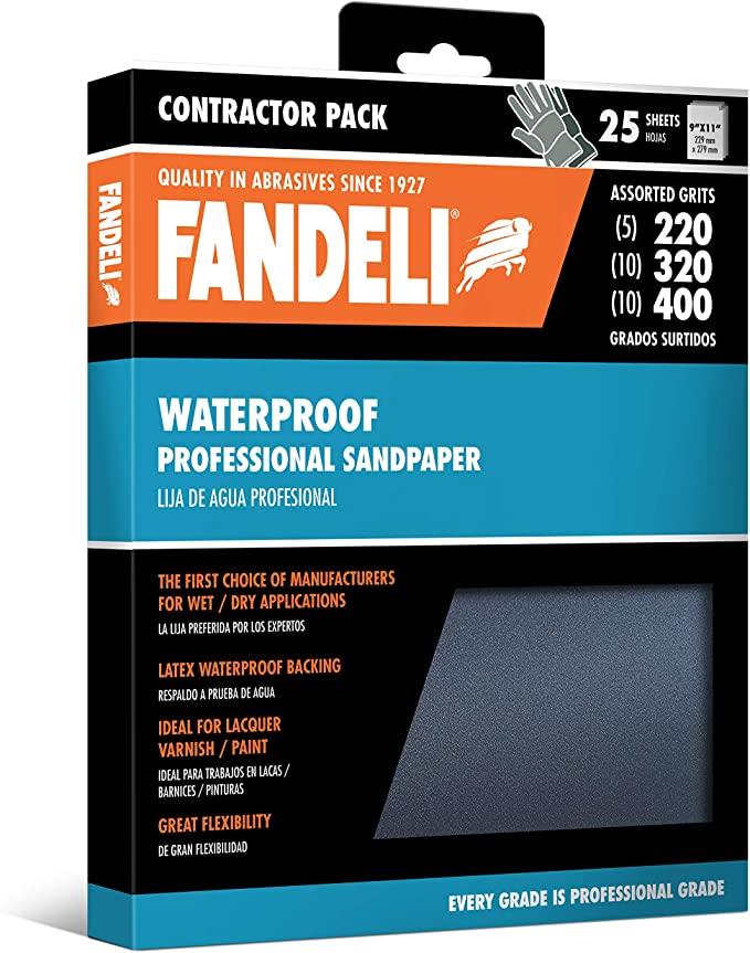 Amazon Com Fandeli Sandpaper Grit Assortment Sand Paper Wet Dry Automotive Polishing Car Metal Waterproof Sanding 220 32 In 2020 Wet And Dry Wet Sandpaper