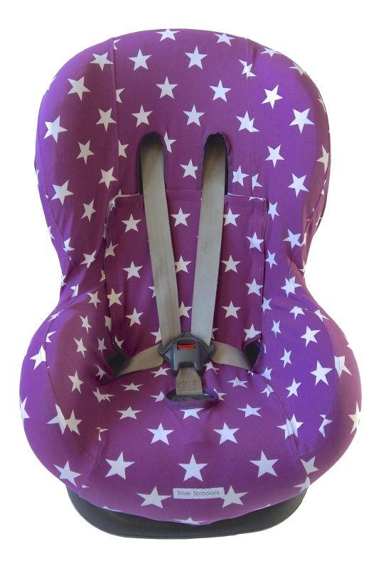 Eetstoel Baby Prenatal.Stoelhoes Ster Paars Zomerhoes Autostoelhoes Maxi Cosi Maxicosi